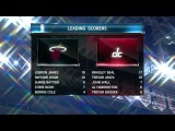 NBA 2013-2014 / Preseason / 15.10.2013 / Miami Heat @ Washington Wizards